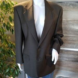 Valentino men's jacket 100% virgin wool. 38 short
